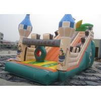 Wholesale Cartoon Playground Giant Inflatable Slide Double Tripple Stitch from china suppliers