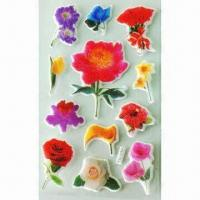 Wholesale 3-D Puffy and Foam Stickers, Available in Various Styles and Designs, OEM Orders are Welcome from china suppliers