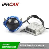 Wholesale IPHCAR Car Led Light 5600K Korea LG Led Chip OPTIMA Led Bi-Xenon Lens Super Bright Led Headlight from china suppliers
