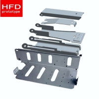 China Metal Stamping Weld Parts Anodizing SPCC Precision Sheet Metal Fabrication on sale
