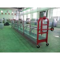 Pin Type Aluminum Hanging Scaffold Systems Gondola ZLP800 With 100M Working Height for sale