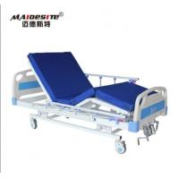 Wholesale M08 Adjustable Three Functions Hospital Bed For Elderly , Sale To Philippines Malaysia Asia from china suppliers