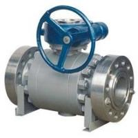 Wholesale API Forged Steel Trunnion Mounted Ball Valve Float High Pressure Big Size from china suppliers