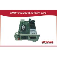 SNMP Card and AS400 Card for UPS,Apply to remote monitoring UPS in network for sale