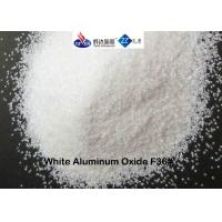 Wholesale White Fused Alumina Aluminium Oxide Blasting Media F36 # For Etching / Decorating from china suppliers