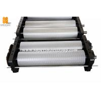 China 40-52 Kg/Hour Beeswax Embossing Machine Roller With 750mm Roller Length on sale