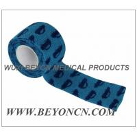 Wholesale Cohesive Elastic Bandage Self Adhesive Custom Printed Wrap for Pets wound care from china suppliers
