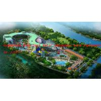 Professional Aqua Park Design With Adults Tornado Water Slide for sale