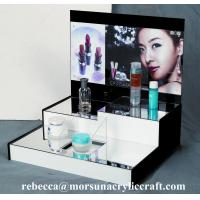 High grade table top acrylic cosmetic display stand for sale
