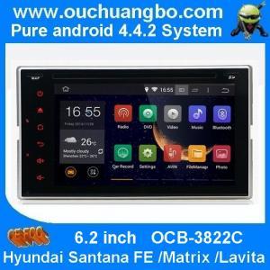 Wholesale Ouchuangbo Car Radio DVD Bluetooth USB 3G Wifi for Hyundai Santana Fe /Matrix /Lavita Andr from china suppliers