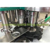 Wholesale Juice Filling And Canning Equipment , Beverage Can Filling Machine With Stainless steel 304 Material from china suppliers