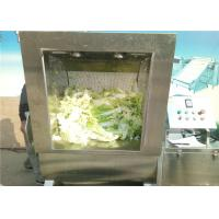 4000 * 1200 * 1250mm Vegetable Washing Machine 200 - 400kg / H Capacity for sale