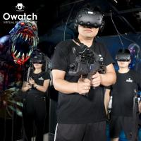 Wholesale Owatch-9D VR 4 Players Team Up Against Monsters Htc Vive Virtual Reality Vr Htc Spacevr Shooting from china suppliers