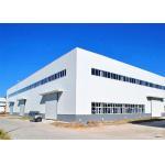 China Steel Prefabricated Warehouse Building / Large Span Steel Frame Industrial Buildings for sale
