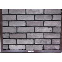 Wholesale Gray Artificial Faux Exterior Brick For Wall Decoration Frost Resistance from china suppliers