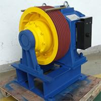 Buy cheap 1600kg,1.6m/s Permanent Magnet Synchronous Geared planet traction machines from wholesalers