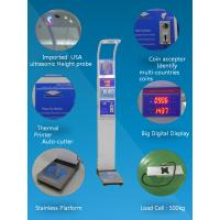 Wholesale Bmi Analysis Digital Height And Weight Scale Coin Operated 1 Year Warranty from china suppliers