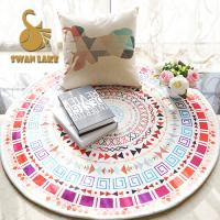 Wholesale Chenille Heat Transfer Printing Carpet Underlay Felt Fabric Living Room Carpet from china suppliers