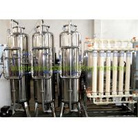 Wholesale Drinking Water Purification Machine Hollow Fiber Ultra Filtration System 220V / 380V from china suppliers