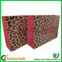 Buy cheap Hot sales paper shopping bag from wholesalers