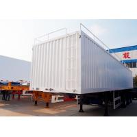 China CIMC long dry van trailer 17 m cargo body box trailer long haul trailer for sale on sale