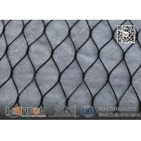 Wholesale Black Color Anodized Wire Cable Mesh With Ferrule | China ISO certificated Company from china suppliers