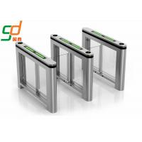 Wholesale Fast Speed Gate / Intelligent Swing Gate Turnstile With Servo Motor Control from china suppliers