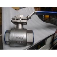 China Three Way Floating Ball Valve For Petroleum , Chemistry Anti Static Device for sale