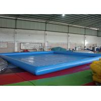 Wholesale Customized Big Inflatable Garden Swimming Pools With CE / UL Blower from china suppliers