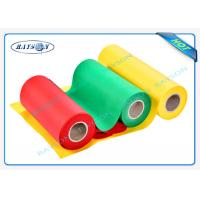 Wholesale Eco friendly PP Spunbond Non Woven Fabric For Bags / Table Cloth / Pillows from china suppliers