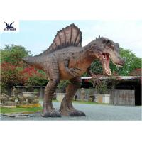 Wholesale Attractive Animatronic Jurassic Dinosaur Garden Ornaments Mouth Movement With Sounds from china suppliers
