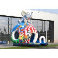 Wholesale Elephant Disco Inflatable Bouncer Fun Circus Outdoor Bounce House For Kids from china suppliers
