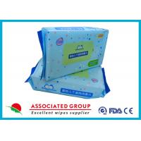 Wholesale Soft Baby Dry Disposable Wipes For Cleaning Body & Hand 60pcs / Bag from china suppliers