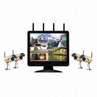 Wholesale 2.4GHz Digital Wireless 15-inch LCD/DVR Video Recording System from china suppliers