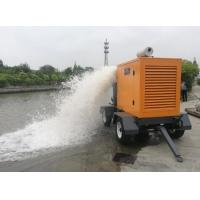 Wholesale Agriculture Move Water Pump 8 Inch Portable Diesel Water Pump CUMMINS Engine from china suppliers