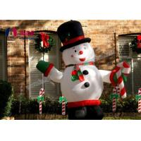 Wholesale Big inflatable snowman , holiday decor inflatable Christmas for decoration USA from china suppliers
