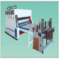 semiautowater ink automatic paperfeeder printing slotting die cutting machine manufacturer