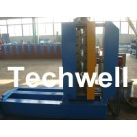 Wholesale 0.3 - 0.8mm Material Thickness Roof Sheet Crimped Curving Machine With PLC Control System from china suppliers