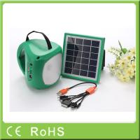 Wholesale For emergency 1.7W 9V portable rechargeable lantern solar led lighting from china suppliers