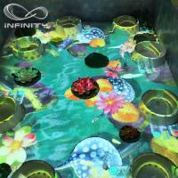 Wholesale Children Playground 3D Interactive Floor Projector , Infinity Interactive Floor Projection System from china suppliers