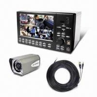 Wholesale All-in-one 7-inch LCD DVR with Four Channels, Supports Central Monitoring System from china suppliers