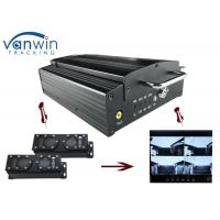 Wholesale 720P HD 3G Mobile DVR with 4CH Mobile DVR CMS platform for CIty Bus from china suppliers