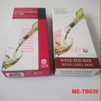 Wholesale Custom Printed Paper Box for Chill Cooling Wine Pour Spout ME-TB039 from china suppliers