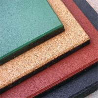 Wholesale Outdoor playground SBR NBR rubber tiles dog bone rubber mat from china suppliers