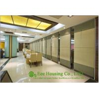 Wholesale Soft Fabric Finished Movable Partition Wall For Dinning Hall, Good Sound Insulation from china suppliers