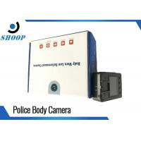 Wholesale Full HD 1080P Security Guard Body Camera , Safety Vision Body Camera Support Card from china suppliers