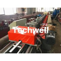 Wholesale 39 / 42 / 45 / 55 / 65 / 77mm PU Foam Roller Shutter Door Slat Roll Forming Machine With Servo Flying Saw Cutting from china suppliers