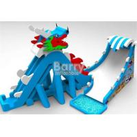 Wholesale Customize PVC Adult Dragon Giant Inflatable Slide Blow Up Slip And Slide from china suppliers