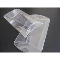 Wholesale gift box wholesale clear PVC box small pillow shape die cut  box from china suppliers