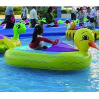 Wholesale EN71 Children Water Games Motorized Inflatable Bumper Boat With Battery from china suppliers